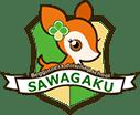サワムラガク ロゴ